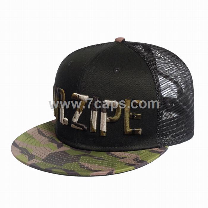 S4039 Military mesh snapback hat-Dongguan Seven Headwear   Bags Manufactory e1f1a758e1d